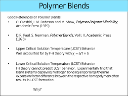 lecture 4 polymer blends good references on polymer blends o lecture 4 polymer blends good references on polymer blends o olasbisi