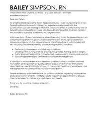operating room registered nurse cover lettercontemporary design cover letter examples for registered nurses