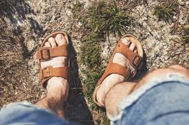 Warm weather is coming and <b>men</b> will wear <b>sandals</b>, and some ...