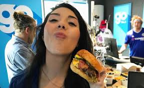 WTF: Giselle celebrates National Cheeseburger Day with her ...