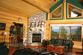 Lodge Living Room Decor Log Home Decorating Pictures Home Office Design Small Office
