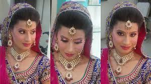 indian bridal makeup princess look