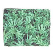 Купить <b>кошелек Cayler</b> And Sons Kush Wallet Green Leaves Brown ...