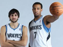 Ricky Rubio and Derrick Williams were rewarded for their rookie seasons on Tuesday.