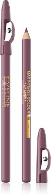 max intense <b>colour карандаш для губ</b> с точилкой №18 light plum