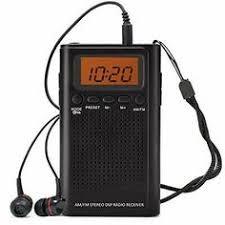 <b>Mini Digital</b> Portable <b>LCD</b> AM FM Radio Dual Band Stereo Receiver ...