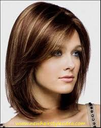 Hair Style Highlights medium short brown hair with highlights best hairstyle 2016 6811 by wearticles.com