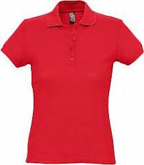 <b>Рубашка поло женская PASSION</b> 170 красная, размер S купить ...