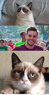 Grumpy Cat Finally Smiles! | WeKnowMemes via Relatably.com