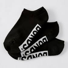 Bonds 3 Pack <b>Cushioned No Show</b> Socks - Black | Target Australia