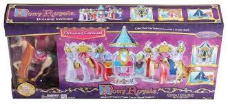 <b>Игровой набор Pony Royal</b> Карусель и пони принцесса Радуга ...