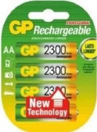 <b>Аккумулятор GP 230AAHC AA</b> NiMH 2300mAh, 4 штуки   Купить с ...