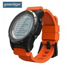 Greentiger S966 GPS <b>Smart Watch Men</b> Heart Rate Monitor <b>Air</b> ...