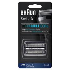 Braun <b>Shaver Replacement</b> Part <b>21B</b> Black - Compatible with Series ...