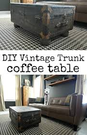 room vintage chest coffee table:  ideas about trunk coffee tables on pinterest steamer trunk trunk table and trunks