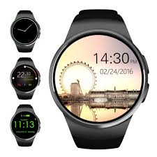 smartwatches wearable technology shop amazon uk evershop® bluetooth smart watch 1 3 inches ips round touch screen smartwatch phone sim card