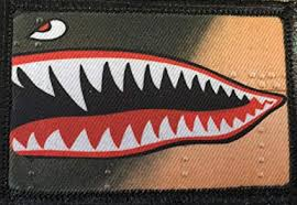 WWII P40 Warhawk <b>Fighter</b> Morale Patch. Perfect for your <b>Tactical</b>