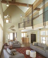 remarkable lighting ideas for high ceilings with midcentury modern couches and chesterfield sofa under wood frame ceiling lighting options