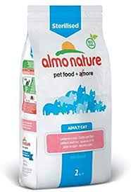 6X <b>Almo Nature Cat Holistic</b> Adult Sterilised Salmon and Rice 2kg ...