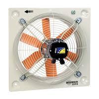 <b>Axial Fans EC</b> Technology - Sodeca