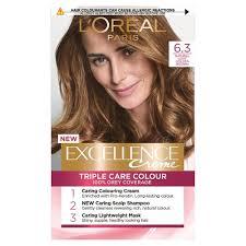 Loreal Paris Excellence <b>Natural Light</b> Golden Brown 63 <b>Hair</b> Dye