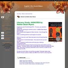 monster walter dean myers essay   two types of essaysromeo character analysis essay  monster by walter dean myers