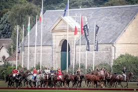 Histoire du Club..HISTORY OF <b>THE</b> CLUB — Chantilly <b>Polo</b> club
