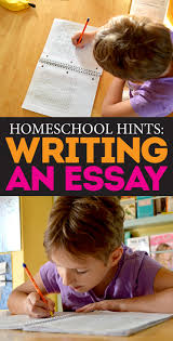 persuasive essay samples how to write a on homeschooling  homeschool hints simple steps to writing a basic essay bite persuasive outline on homeschooling how wri