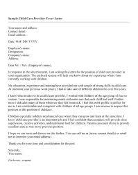 cover letter for daycare position   cover letter templatesresume