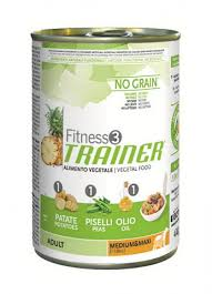 <b>Trainer Fitness3 No</b> Grain Medium/Maxi Adult Vegetal <b>Консервы</b> ...