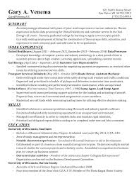 one page resume for gary venema my one page resume · my application · other sites i ve created · return to venema us