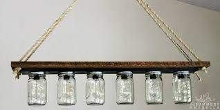 remodelaholic upcycle a vanity light strip to a hanging pendant light bathroom vanity lights pendant lamps