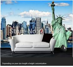 liberty bedroom wall mural: free shipping custom modern d mural bedroom living room tv backdrop wallpaper wallpaper ktv bars