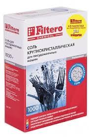 <b>Соль</b> для посудомоечных машин <b>Filtero Арт</b>.707 1кг.+3 таблетки ...