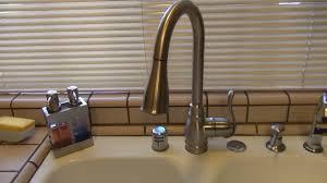 4 Piece Kitchen Faucet Moen Anabelle Kitchen Faucet Ca87003srs Review Youtube