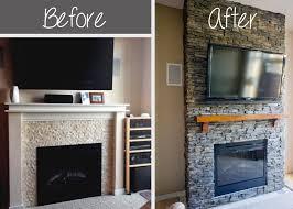 stacked stone fireplace design dennis pinterest