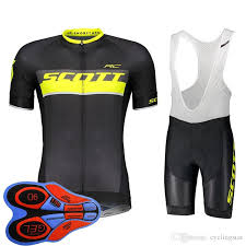 <b>2019</b> Men SCOTT Team <b>Cycling</b> Jersey Suits <b>Summer</b> Short ...