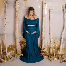 <b>Maternity Dresses For</b> Photo Shooting Off Shoulder Dress Maternity ...