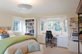 bedroom workspace with ample storage space design matarozzi pelsinger builders bedroom office