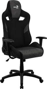 <b>Кресло</b> игровое <b>AEROCOOL Count</b> Iron Black, черный, отзывы ...