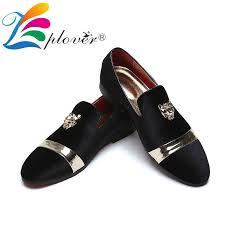 <b>Men Casual Shoes Velvet</b> Men Loafers Luxury Brand Tiger Metal ...
