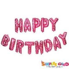 Instructions: UP Celebrations Happy Birthday Balloon Banner ...