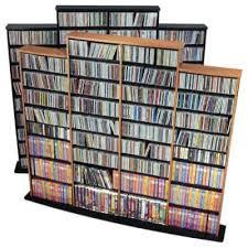 <b>CD Storage</b> Cabinets & Towers | Hayneedle