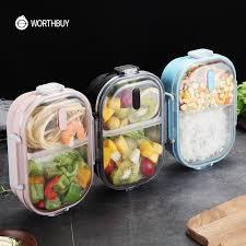 WORTHBUY японский переносная коробка для ланча для детей ...