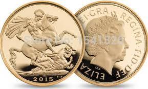 <b>wholesale 100pcs/lot DHL Free</b> shipping The Sovereign 2015 gold ...