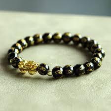 Mcllroy Men Bracelet <b>6mm Natural Stone</b> Beads Pixiu Bracelet ...