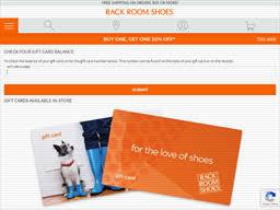 Rack Room Shoes   Gift Card Balance Check   Balance Enquiry ...