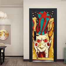 Halloween <b>Scary Clown High quality</b> 3D Fashion Decal Art Decor ...