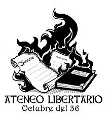 Resultado de imagen de ateneo libertario octubre del 36