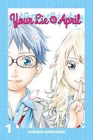 <b>Your Lie in April</b> 1 by Naoshi Arakawa: 9781632361714 ...